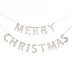 Guirlande en bois - Merry Christmas