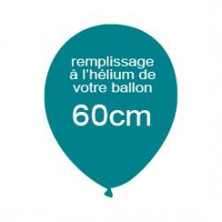 Hélium pour ballon latex de 60 cm