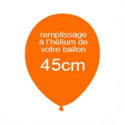 Hélium pour ballon latex de 45cm