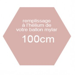 Hélium mylar 40' (100cm)