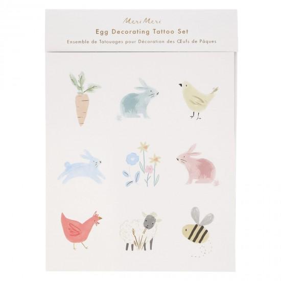Kit décorations oeuf de Pâques - Printemps