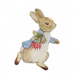 12 assiettes - Peter Rabbit