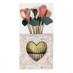 Kit cupcake - Liberty et fleurs