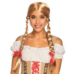 Perruque Heidi blonde