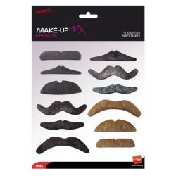 Moustaches de fête, Designs et couleurs