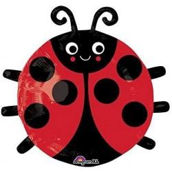 Ballon aluminium - Ladybug