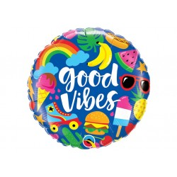 Ballon aluminium - Good vibes