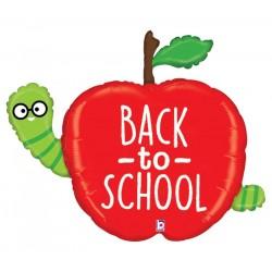 Ballon aluminium - Back to school