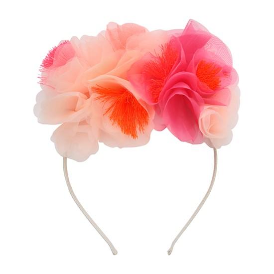 Serre-tête - Floral rose