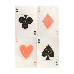 16 serviettes - Magie carte