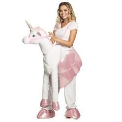 Costume Sur une licorne (taille unique)