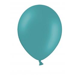 10 ballons bleu caraïbes
