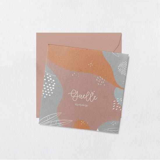 Faire-part Odilon collection - Gaelle