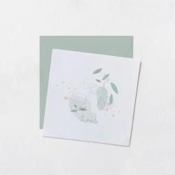 Faire-part Odilon collection - Louis blanc