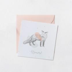 Faire-part Odilon collection - Eléonore