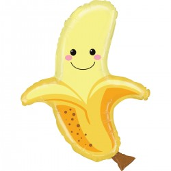 Ballon aluminium - Banane