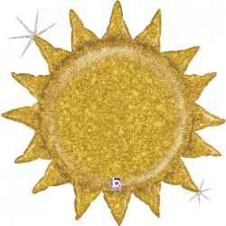 Ballon aluminium -  Sun glitter