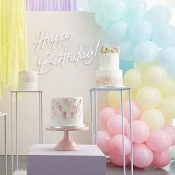 Kit arche à ballons - Multicolore pastel