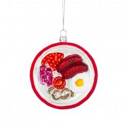 1 décoration de Noël - English Breakfast