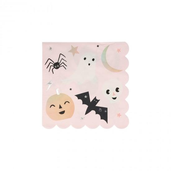 16 serviettes - Halloween pastel