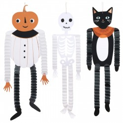3 suspensions Halloween vintage - 3 designs