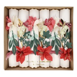 6 crackers - Fleurs de noisettier