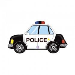 Ballon aluminium - Voiture de police