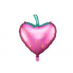 Ballon aluminium fraise