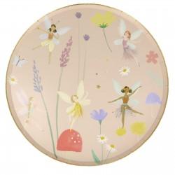 8 assiettes fairy