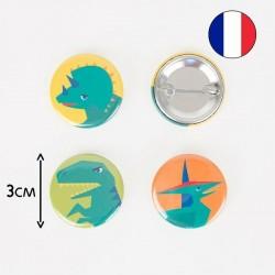 Badge - Dino