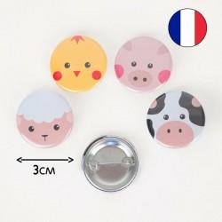 Badge - Mini ferme