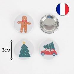 Badge - Christmas