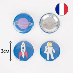 Badge - Cosmos