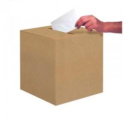 Urne en carton - Kraft