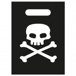 8 sachets - Pirate tête de mort