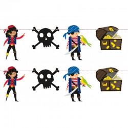 Guirlande Ahoy - Pirate