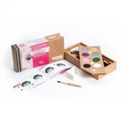 Kit de maquillage Bio 8 couleurs à base d'eau - Mondes enchantés