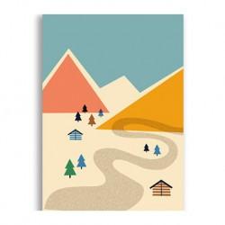 Carte paysage - Montagne