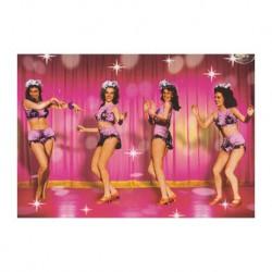 Carte vintage - Dancing Girls