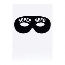 "Carte ""Superhero"""