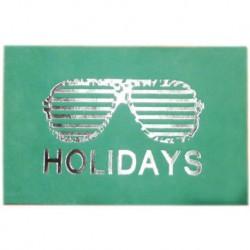 """Carte cuir """"Holidays"""""""
