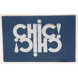 """Carte cuir """"Chic"""""""