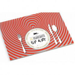 Pop Art - 48 sets de table en papier