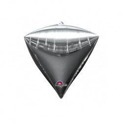 Ballon mylar Diamant argenté