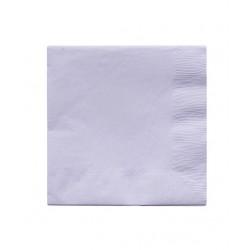 20 serviettes en papier - lavande