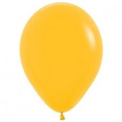 10 ballons jaune or