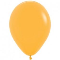 10 ballons jaune mangue