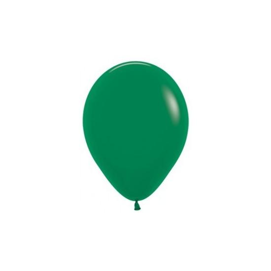 10 ballons vert forêt