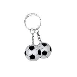 12 portes clés ballons de foot