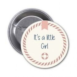 """Badge """"little Girl"""""""